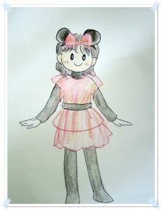 ミニーマウス仮装