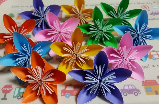 折り紙の桜