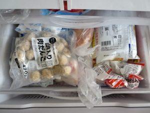 冷凍室中段