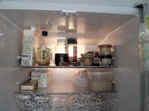 冷蔵庫内上段
